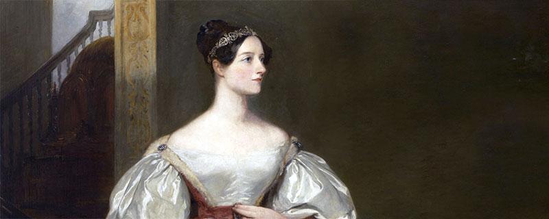 Frauen im Zeitalter der Digitalisierung - Ada Lovelace 1836 auf einem Gemälde von Margaret Sarah Carpenter