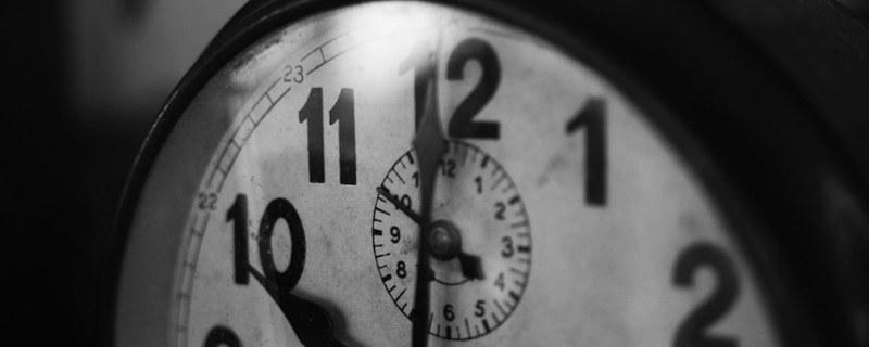 Berufsbild, Voraussetzungen und Erwartungen an Interim Manager - Foto einer Uhr in Nahaufnahme
