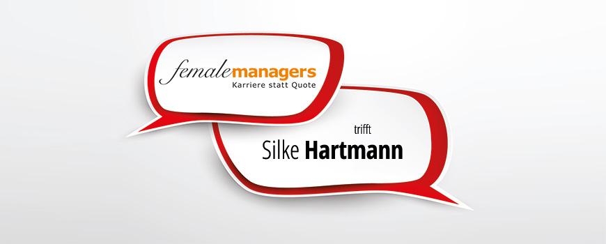 Sprechblasen als Ankündigung des Interviews mit Silke Hartmann