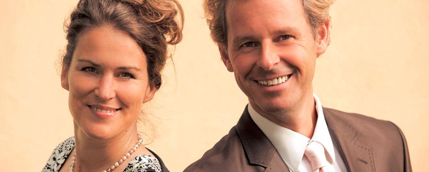 Portrait - Christine und Frank Astor