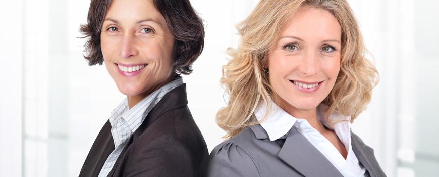 Erfolgreiche Businessfrauen