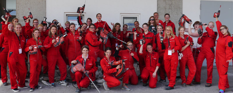 Women's-Day-2015 |©Hilti Deutschland AG