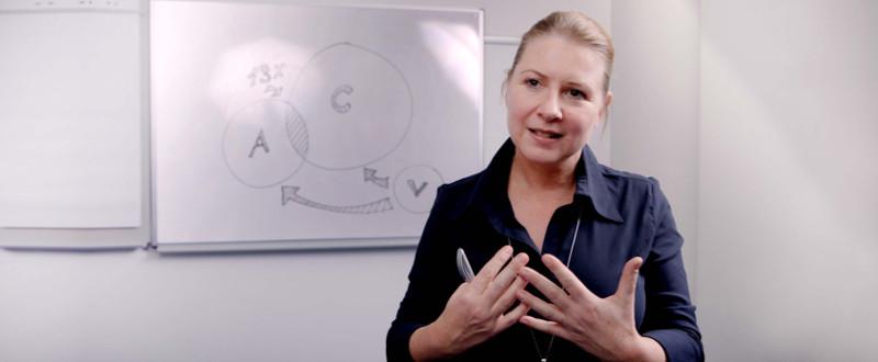 Wie Sie mit relativ wenig Vorbereitung im Vorstellungsgespräch glänzen - Simone Dappert beim Vortrag